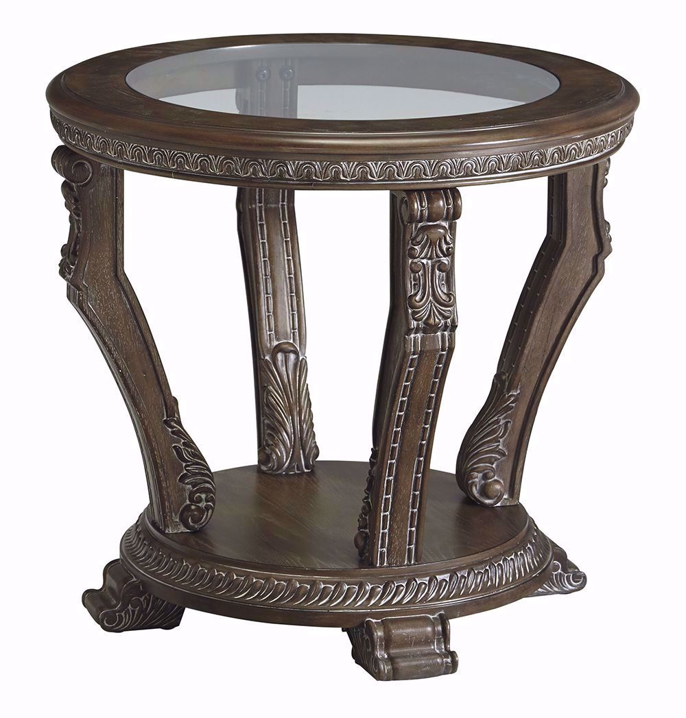 Picture of Charmond Brown Round End Table
