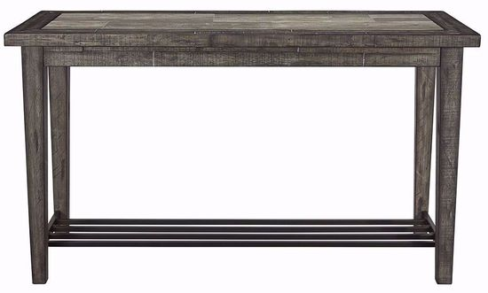Picture of Mavenry Grey Sofa Table