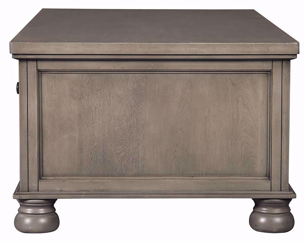 Picture of Lettner Grey Rectangular Cocktail Table
