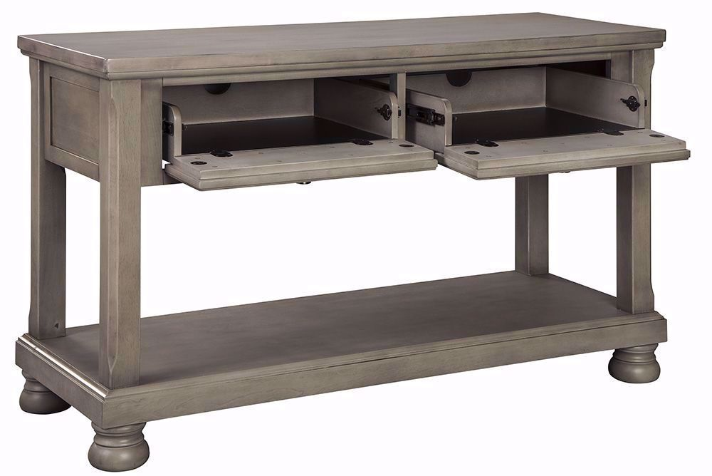Picture of Lettner Grey Sofa Table