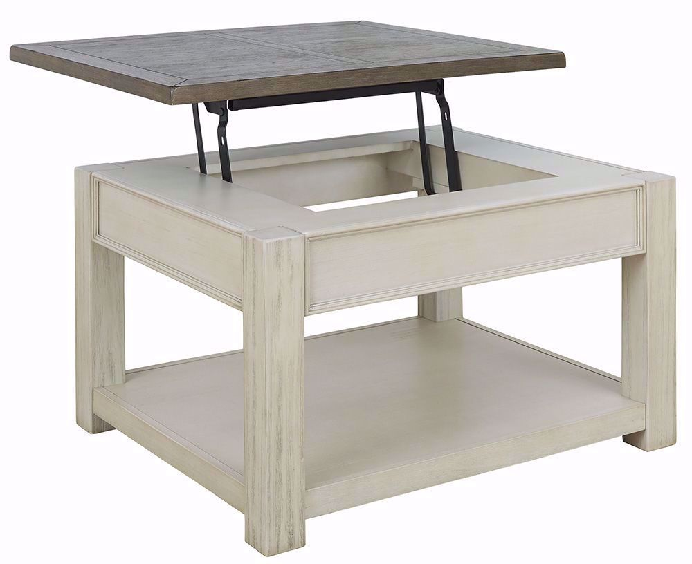 Picture of Bolanburg Brown and White Lift Cocktail Table