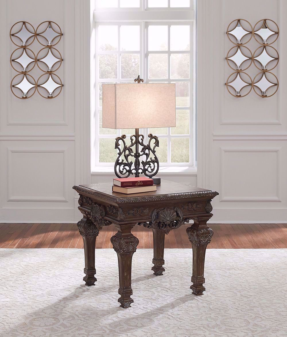 Picture of Charmond Brown Square End Table