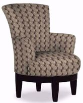 Justine Tan Swivel Chair