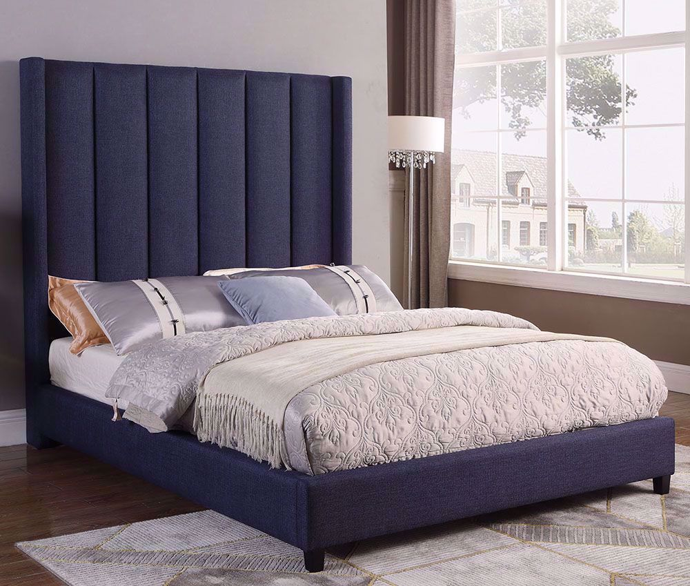 Picture of Amy Slate Queen Bed Set