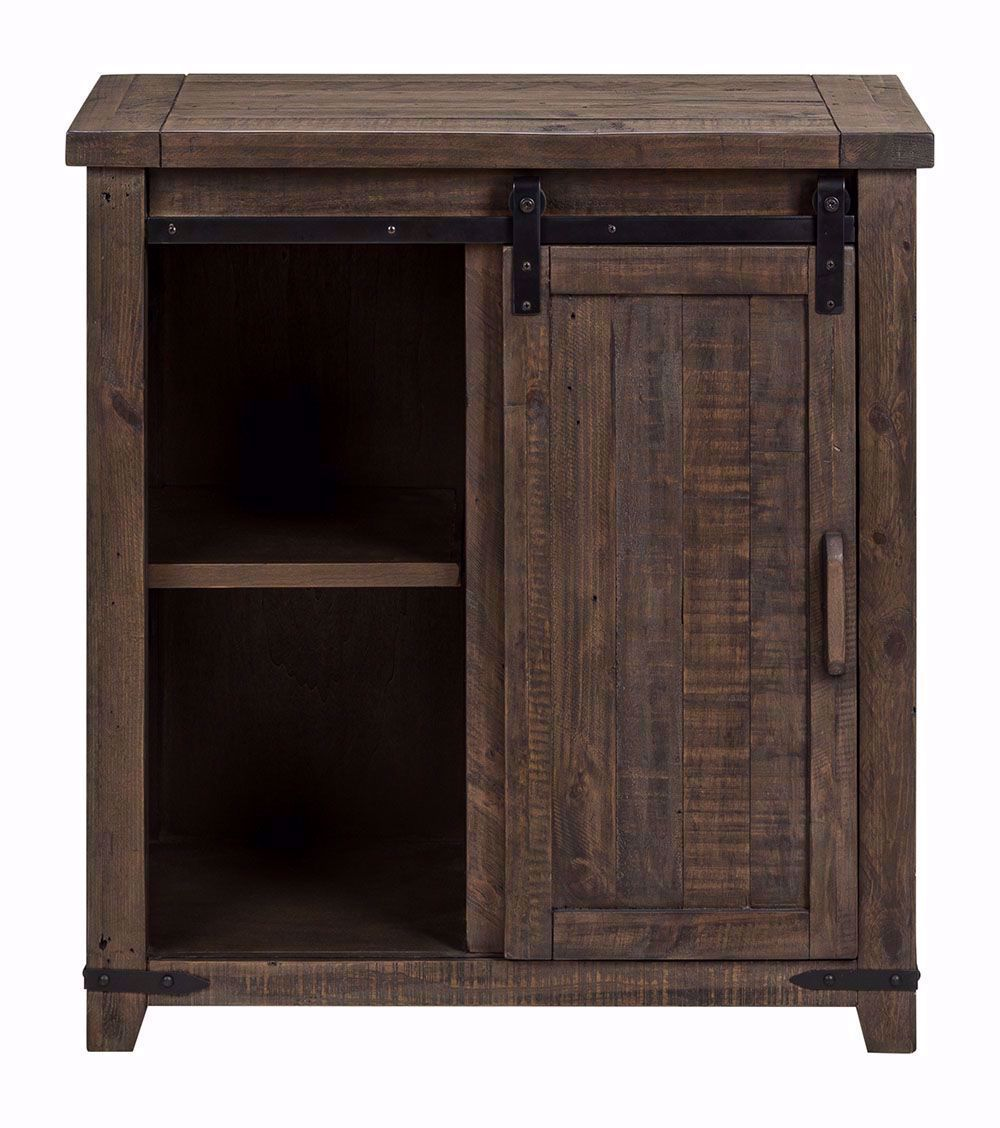 Picture of Madison 32 Inch Barnwood Accent Cabinet