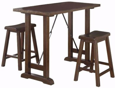 Rochester Counter Table with Two Stools