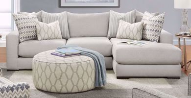 Braxton Fog Two Piece Sectional