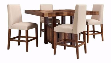 Cruz Counter Table with Four Stools