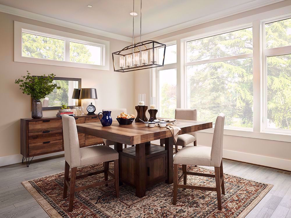 Picture of Cruz Counter Table with Four Stools