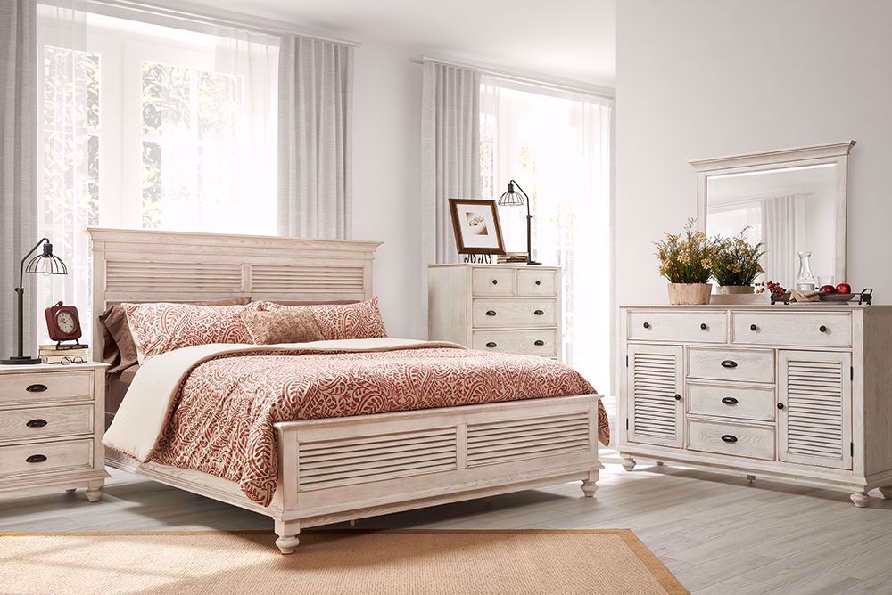 Picture of Lakeport Driftwood King Bedroom Set