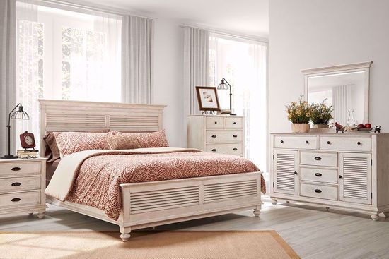 Picture of Lakeport Driftwood King Bedroom Set
