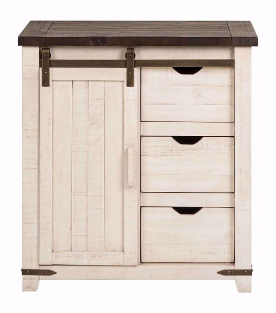 Picture of Madison County 32 Inch White Accent Cabinet