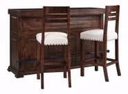 Condesa Tobacco Bar Table with Two Stools