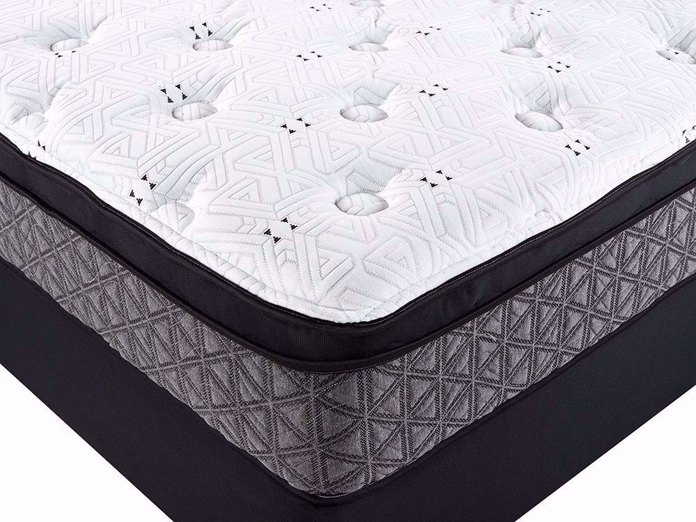 Picture of Restonic Dazzle Euro Top Twin Mattress Set