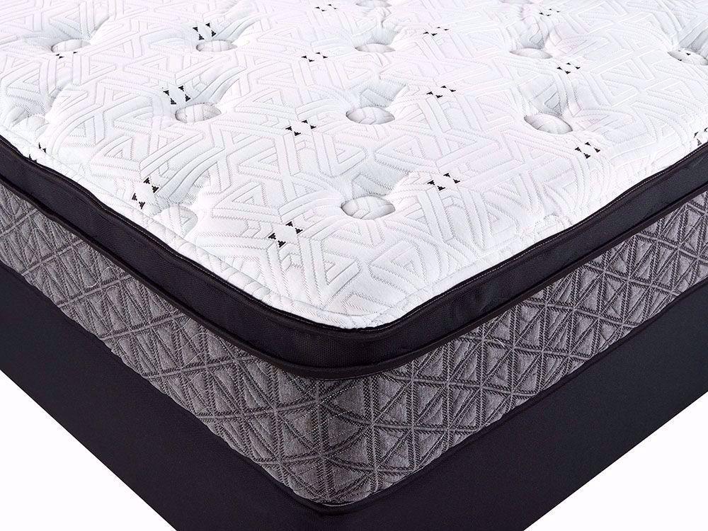 Picture of Restonic Dazzle Euro Top Twin XL Mattress Set