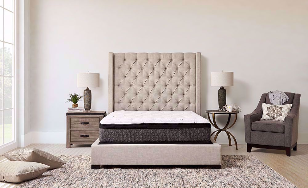Picture of Restonic Dazzle Euro Top Full Mattress Set