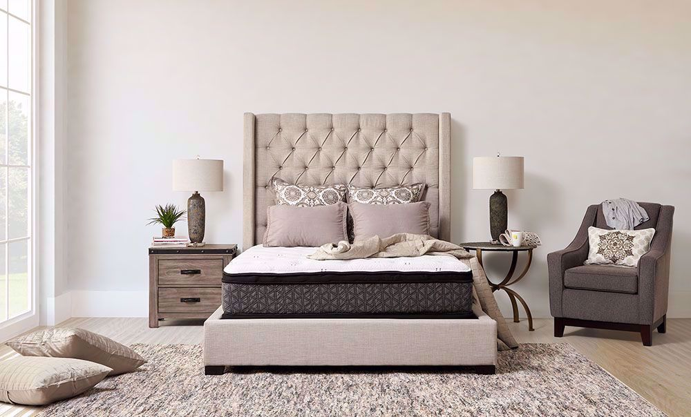 Picture of Restonic Dazzle Euro Top King Mattress Set