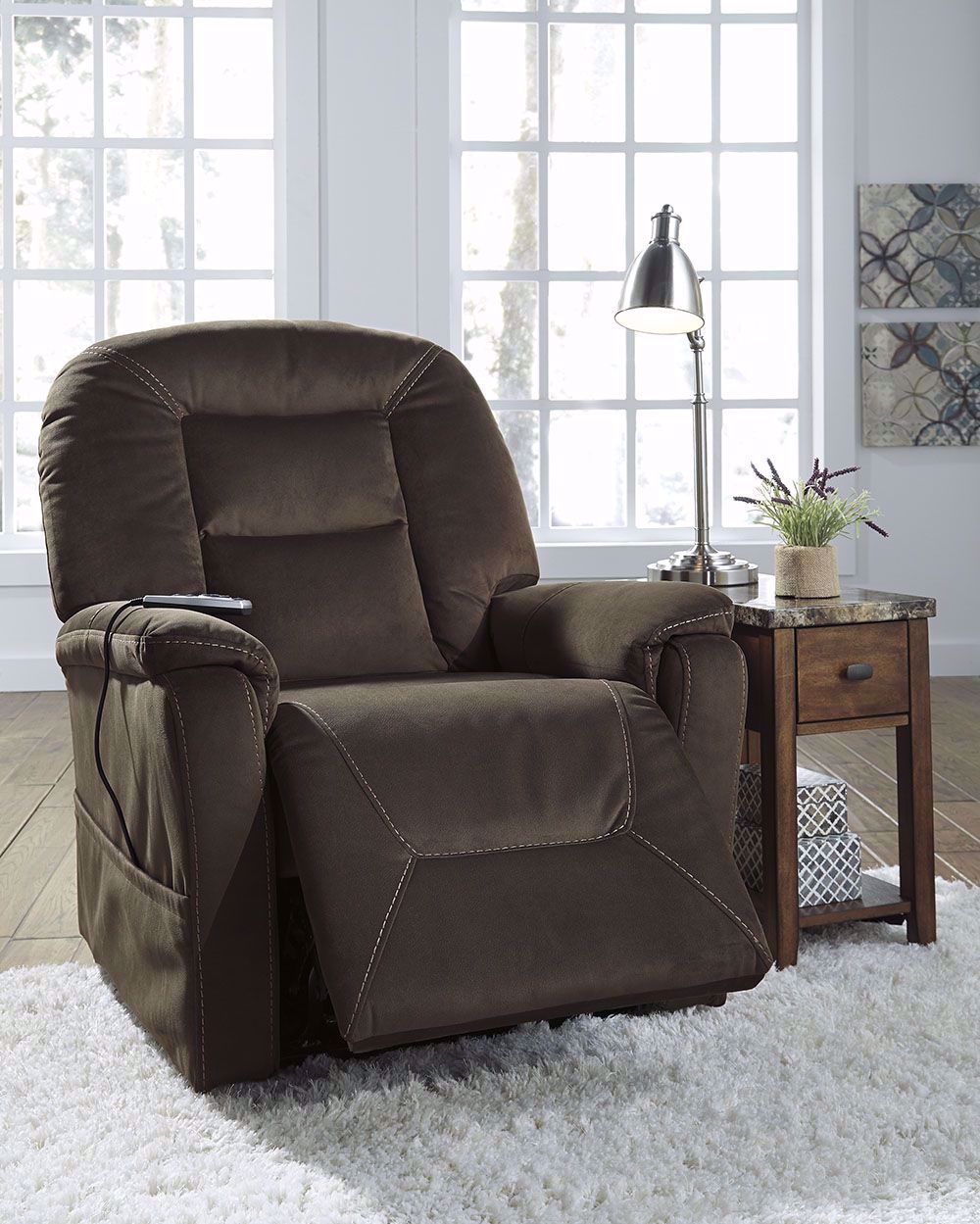 Picture of Samir Coffee Power Lift Recliner