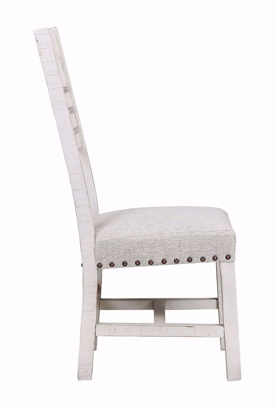 Picture of Condesa White Wood Back Side Chair