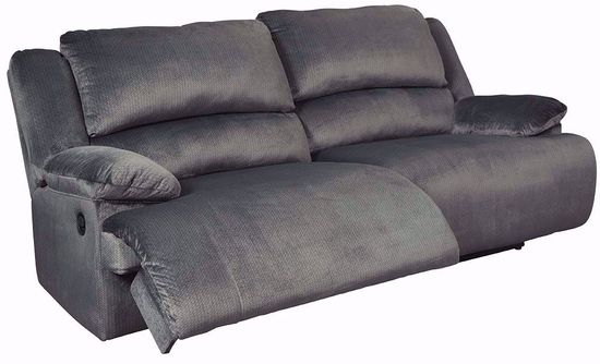 Picture of Clonmel Charcoal Reclining Sofa
