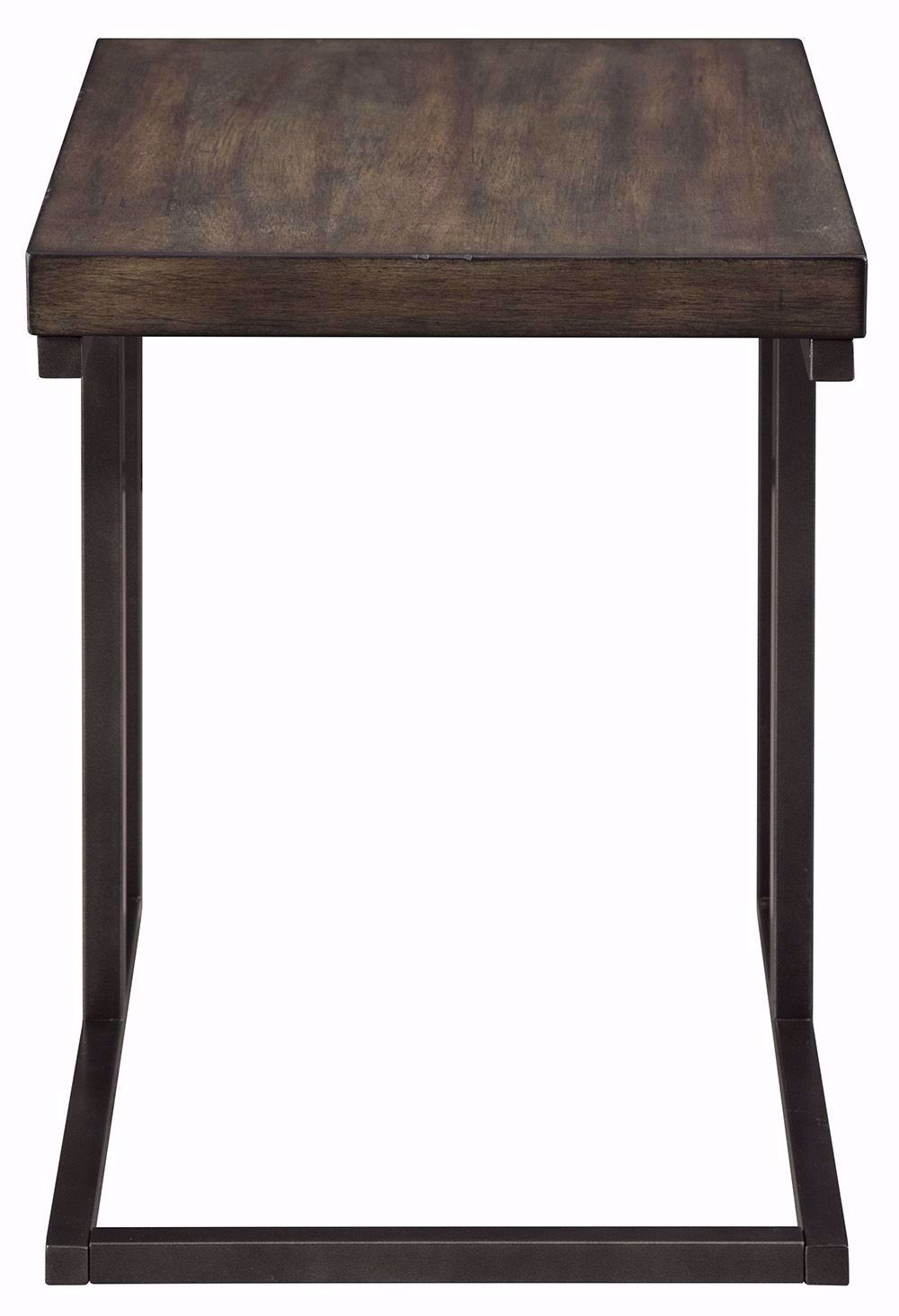 Picture of Johurst Black and Gray Chairside Table