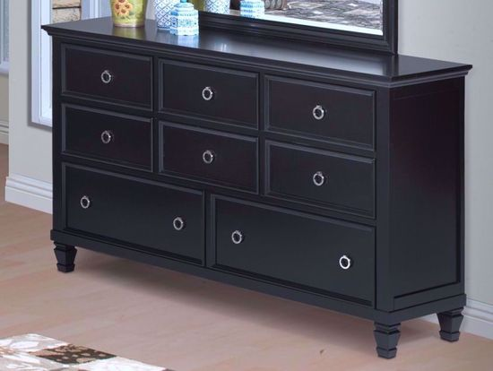 Picture of Tamarack Black Dresser