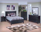 Tamarack Black King Bed Set