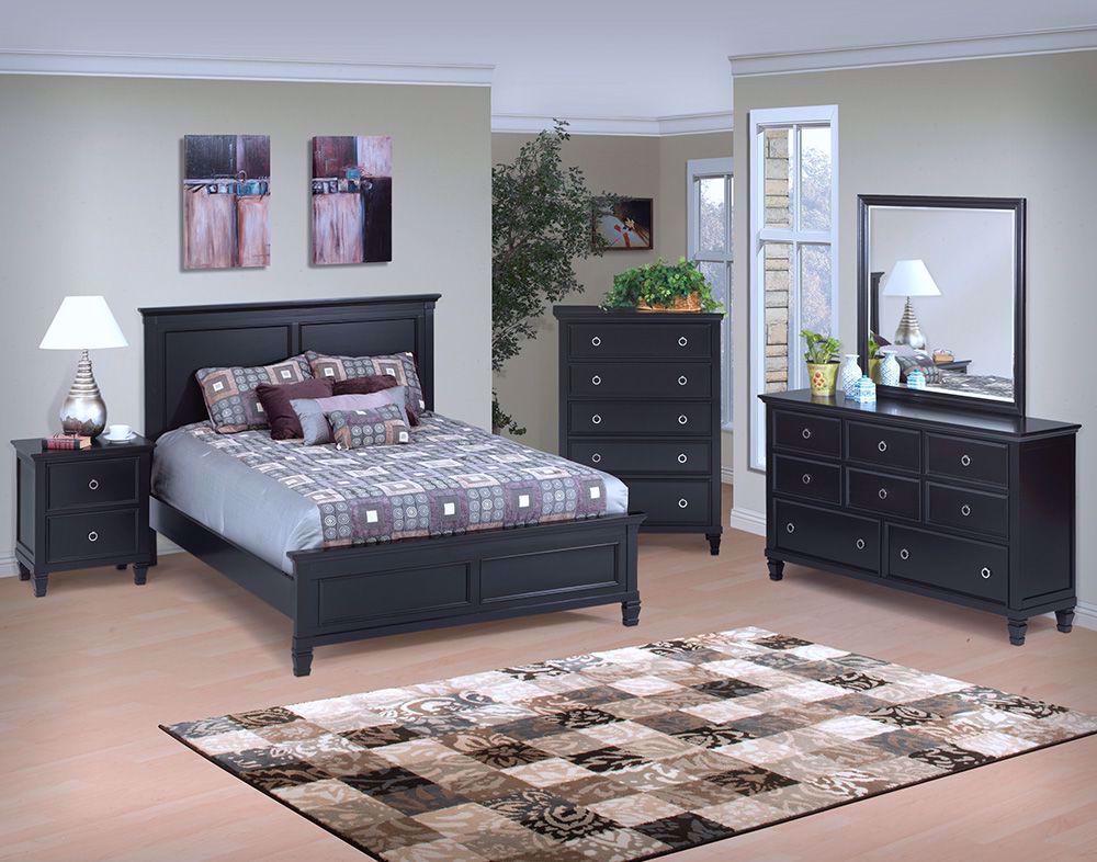 Picture of Tamarack Black Queen Bed Set