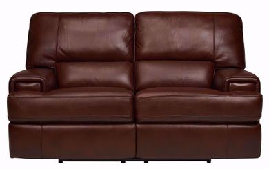 Cambridge Brown Power Reclining Loveseat