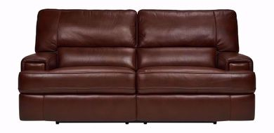Cambridge Brown Power Reclining Sofa