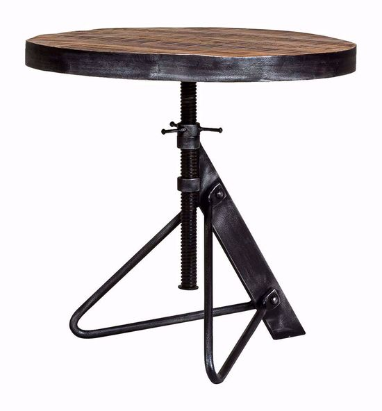Picture of Adjustable Round Accent Table Only