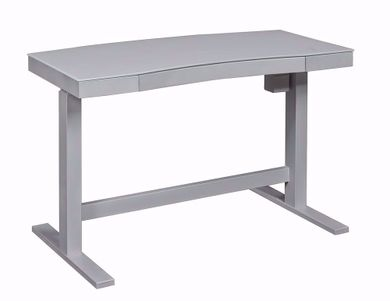 Ashford White Adjustable Desk