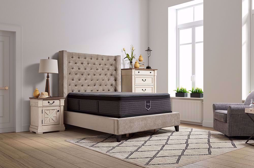 Picture of Restonic Endure Eurotop Queen Mattress Set