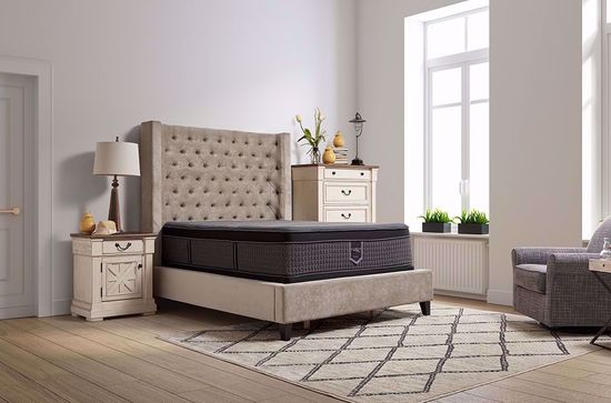 Picture of Restonic Endure Eurotop King Mattress Set