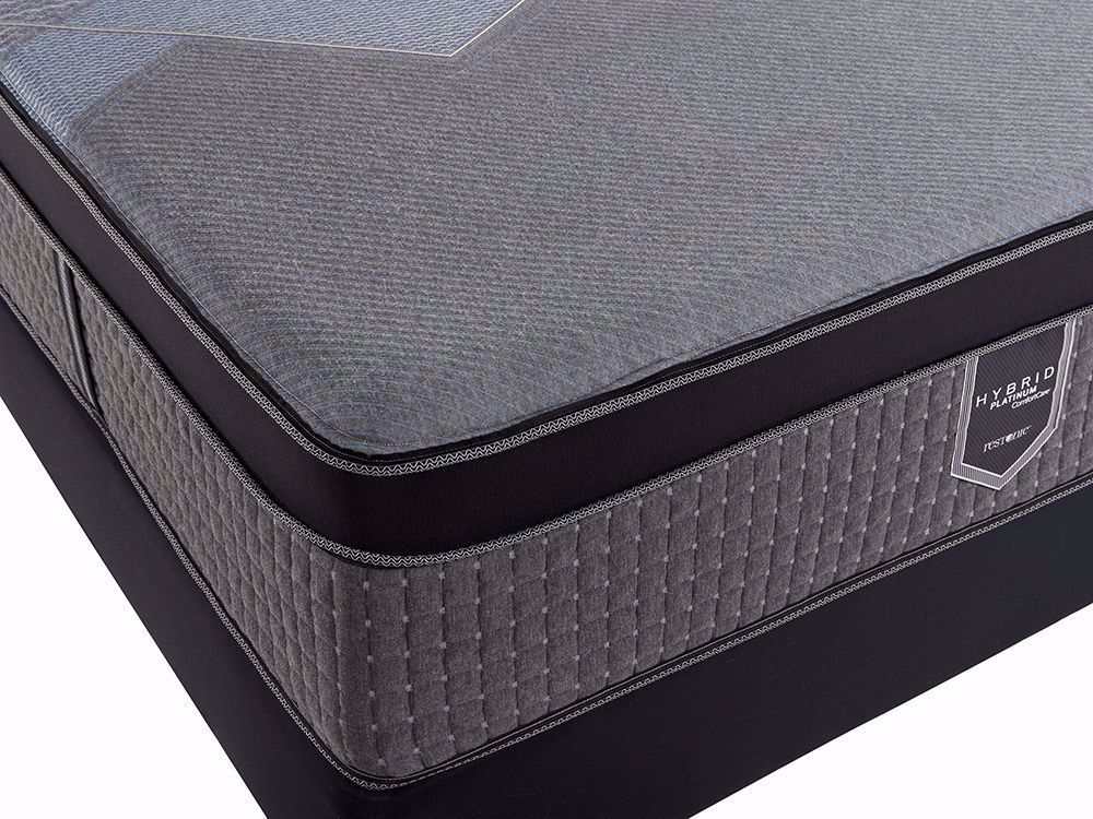 Picture of Restonic Endure Eurotop Full Mattress Set