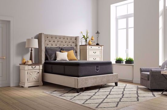 Picture of Restonic Endure Eurotop Twin Mattress Set