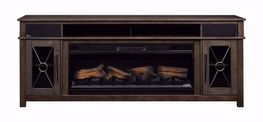 42 Inch Heathrow TV Stand with Fireplace Insert