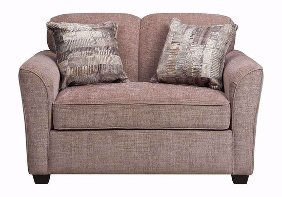 Picture of Abruzzo Taupe Twin Sleeper Sofa
