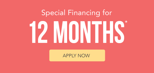 Special Financing for 12 Months* (Apply Now)
