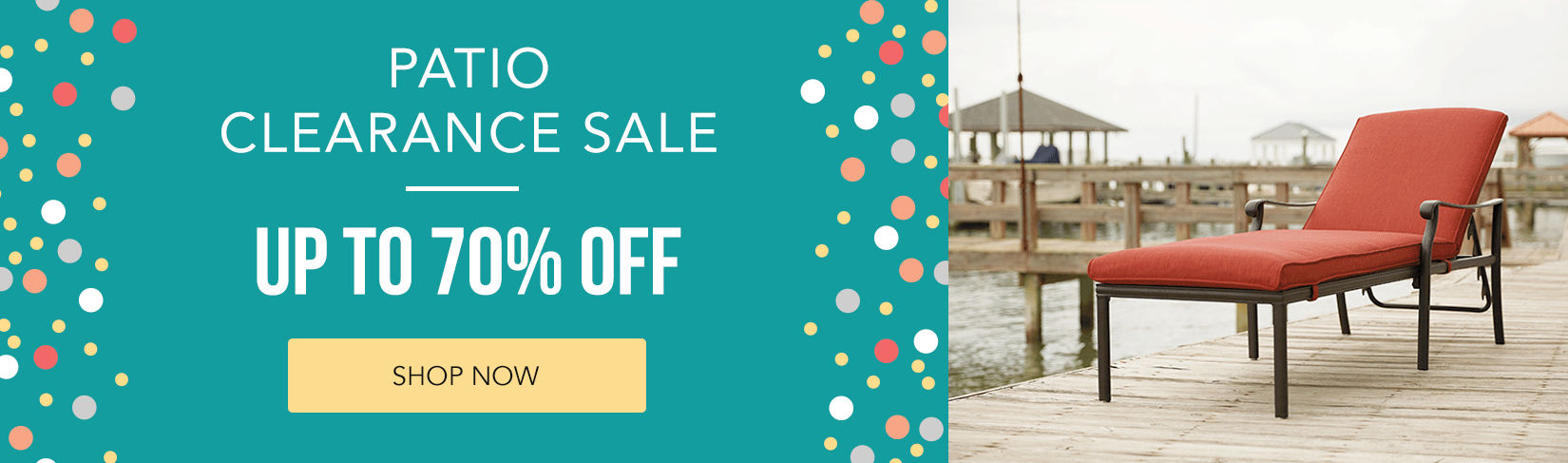 Patio Clearance Sale | Up to 70% off