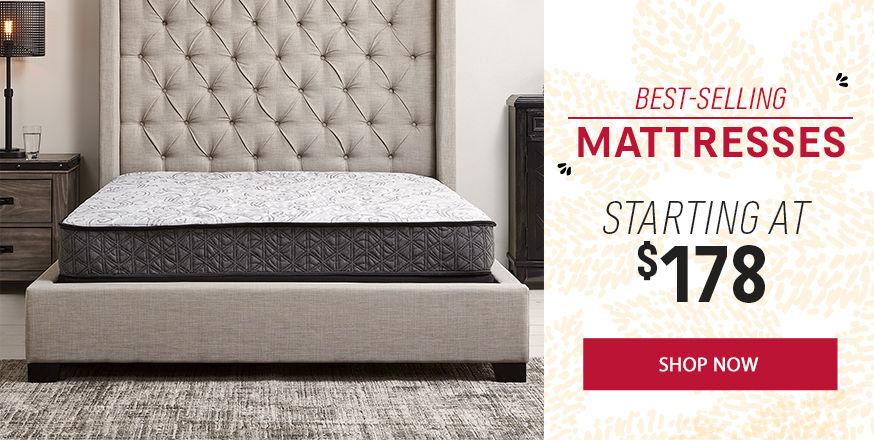 Fall Clearance Mattress Sale | Queen Mattresses Starting at $178