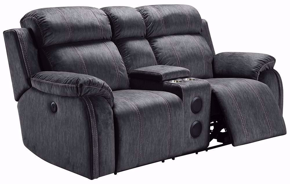 Picture of Tango Shadow Console Reclining Loveseat