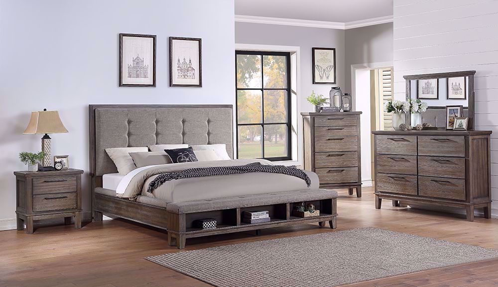 Picture of Cagney Gray King Bedroom Set
