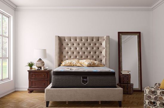 Picture of Restonic Harmony Eurotop Queen Mattress Set