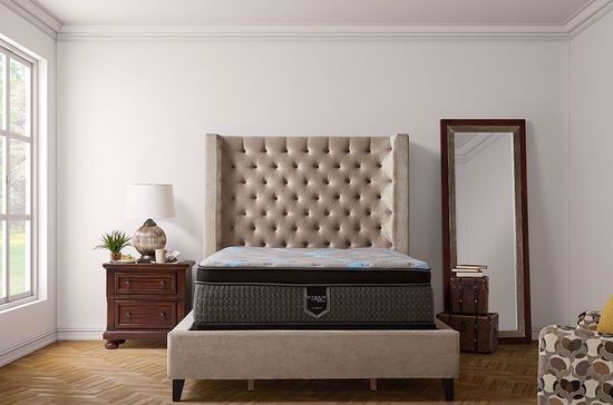Picture of Restonic Harmony Eurotop Twin Mattress Set