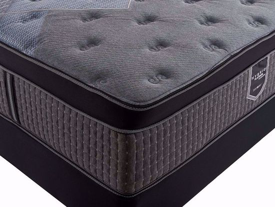 Picture of Restonic Flourish Eurotop Queen Mattress Set