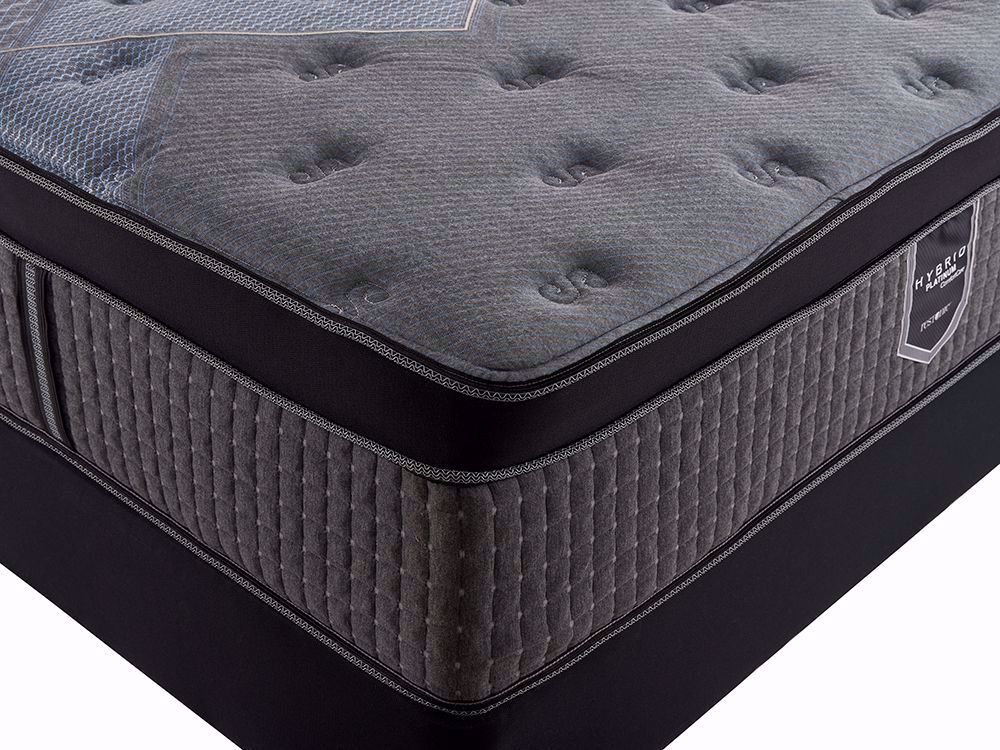 Picture of Restonic Flourish Eurotop King Mattress Set