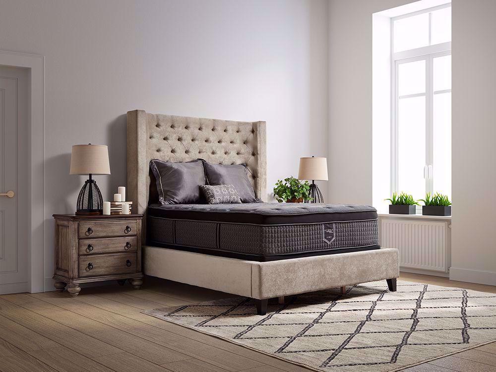 Picture of Restonic Flourish Eurotop Twin Mattress Set