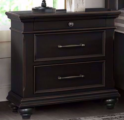 Picture of Slater Black Nightstand