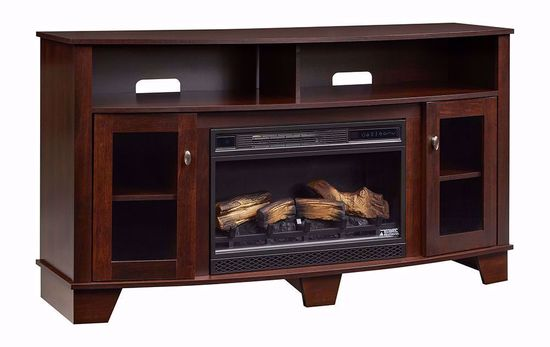 Picture of Lasalle 26 inch TV Stand with Fireplace Insert